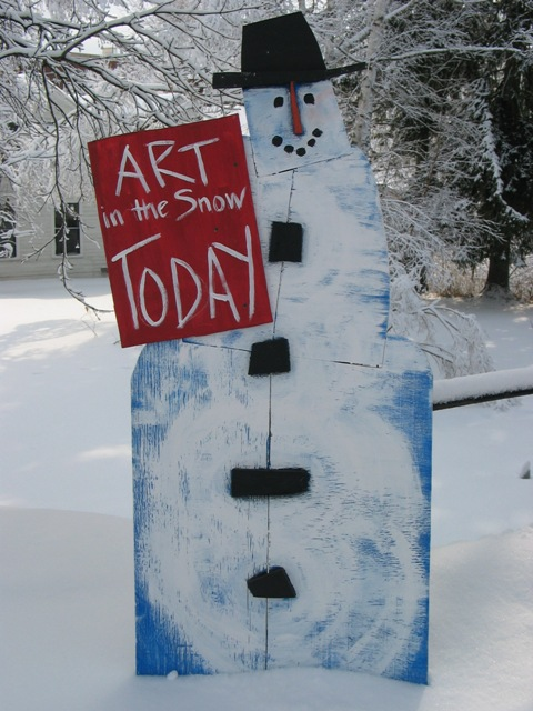 Art in the Snow