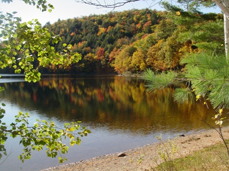 Silver Lake in the Fall
