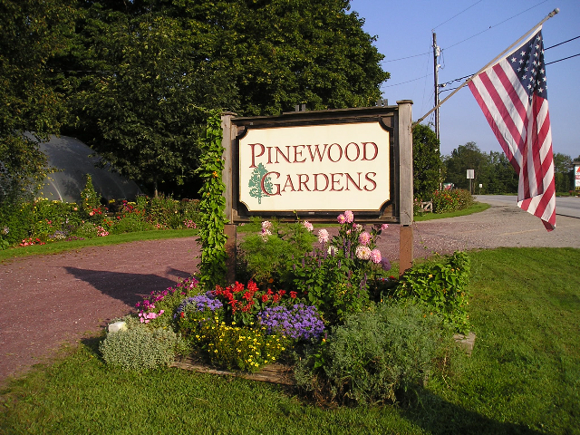 Pinewood Garden Center Brandon VT Vermont
